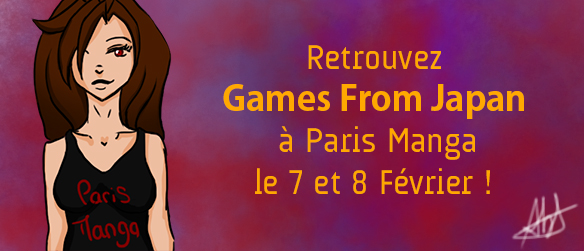 Games from Japan à Paris Manga !